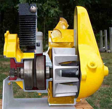 Rototiller Engine